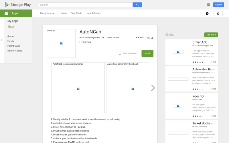AutoNCab - Android Apps on Google Play - AngelList