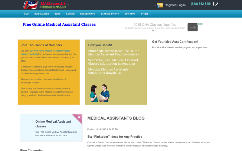 Medical Assistant Training Classes Free Online Local Angellist