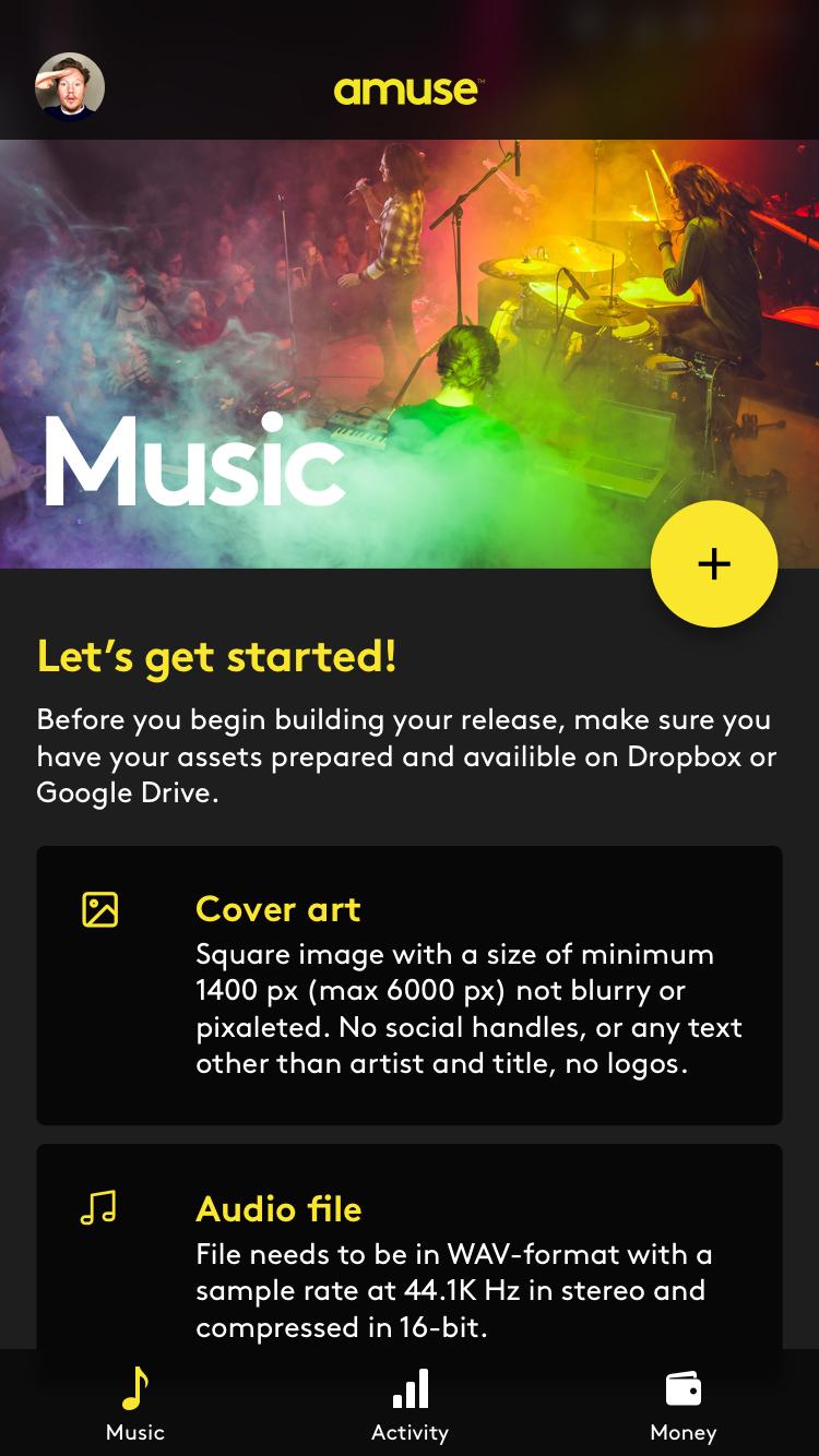 Music Distribution | Amuse | AngelList