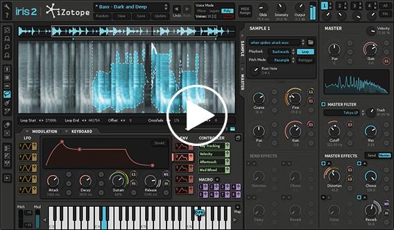 iZotope Iris 2: Virtual Instrument & Sample-based Synthesizer ...