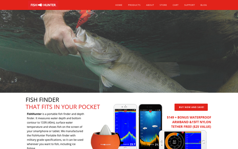 fishhunter, fish finder app + sonar - angellist, Fish Finder