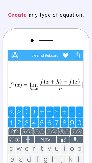 Nuten - The Math and Science Keyboard on the App Store