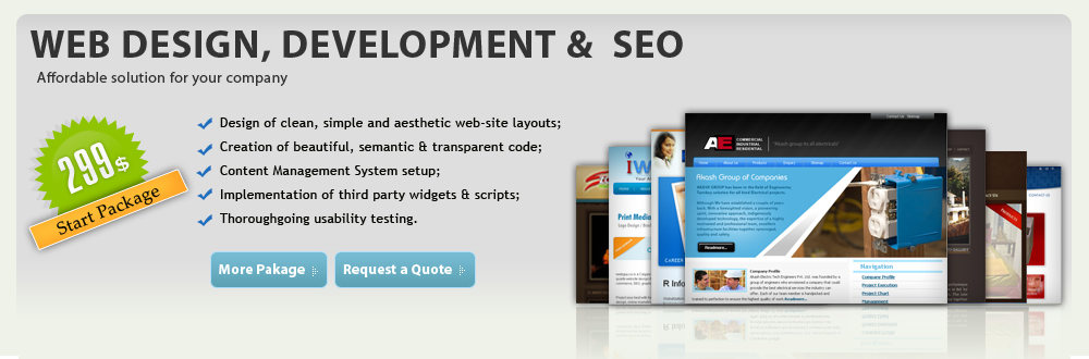 Kipzer is top ten best web development company in india for Design company usa