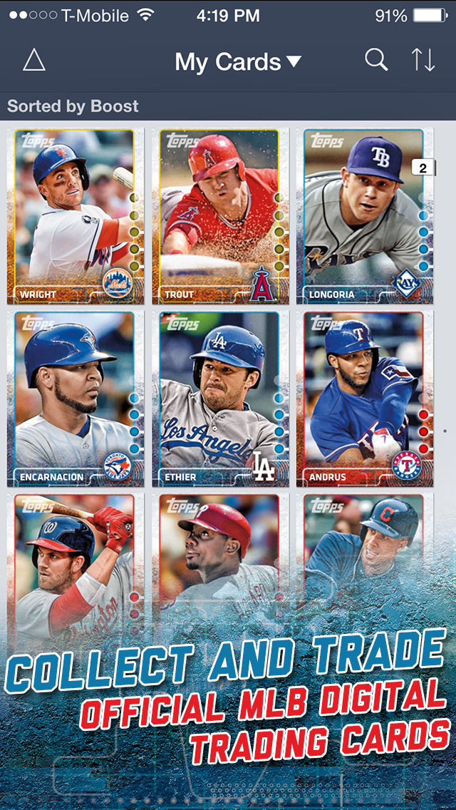 Bunt The Mlb Digital Baseball Trading Card Game Angellist