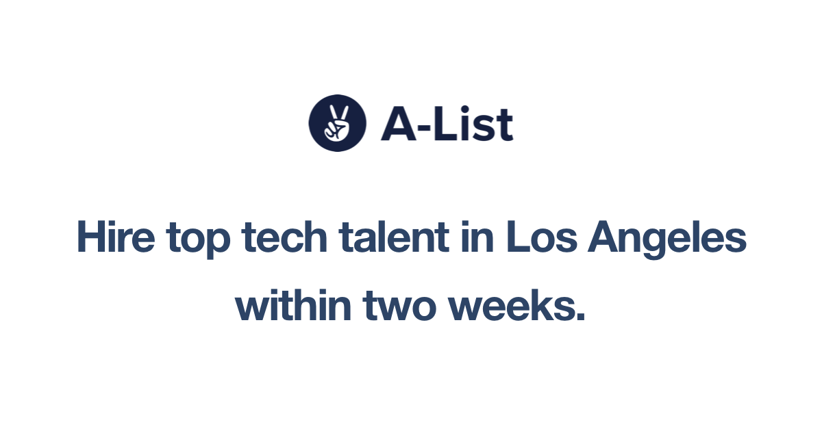 A-List Launches in Los Angeles!