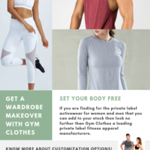 Wholesale Private Label activewear Manufacturers And