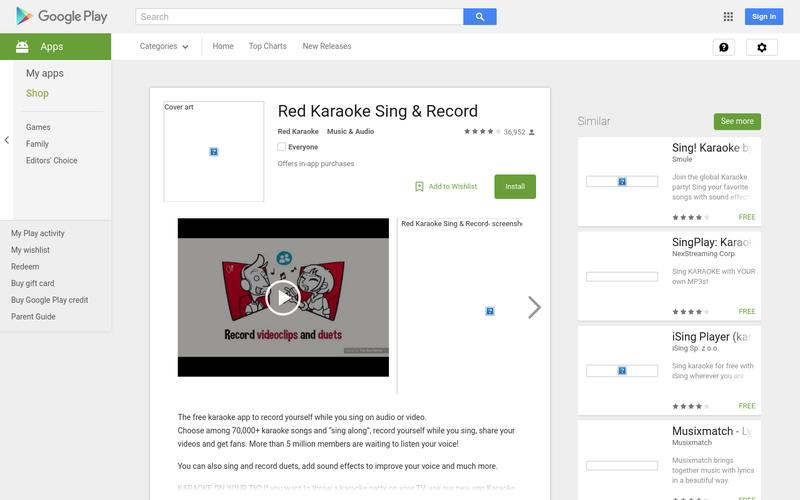 Red Karaoke Sing & Record - Android App | AngelList