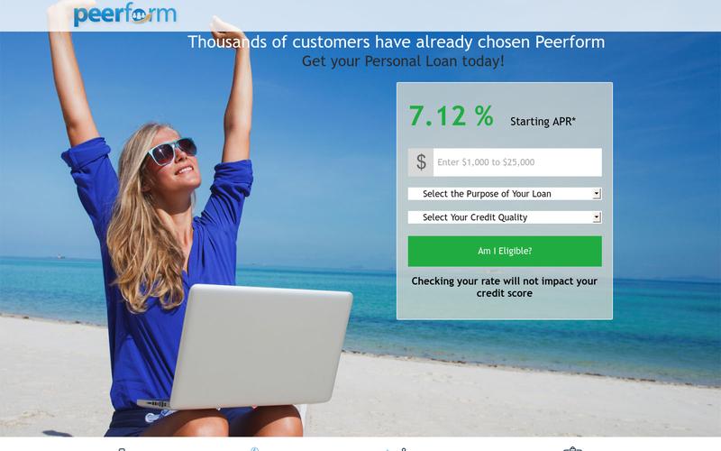 Peerform - Peer to Peer Loans | Marketplace Lending | Personal ...