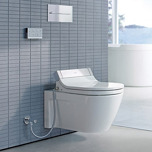 duravit starck 2 wallmounted toilet for use with sensowash c