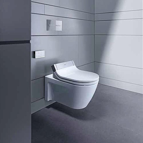 duravit 2533590092 starck 2 wall mounted toilet for use. Black Bedroom Furniture Sets. Home Design Ideas