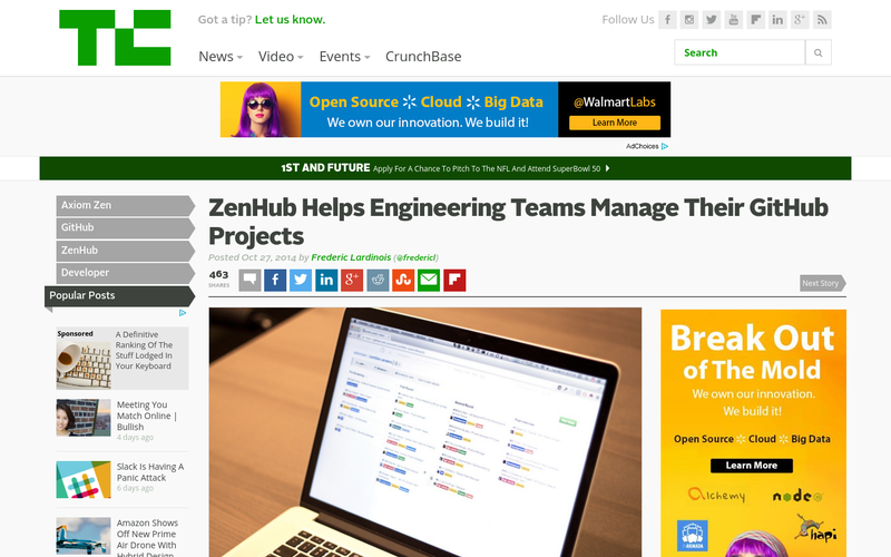 Launches officially on TechCrunch :-)