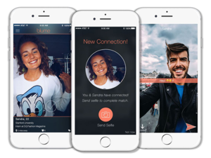Face recognition dating app