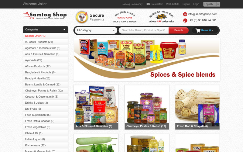 buy cheapest grocery online indian grocery shop in germany at angellist. Black Bedroom Furniture Sets. Home Design Ideas