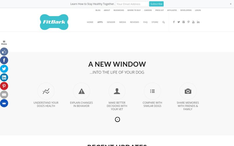 FitBark Web Dashboard