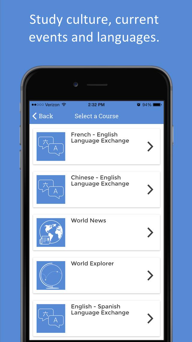 Penpal world app