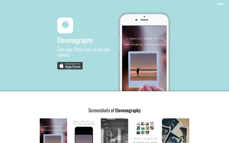 Elevenogrpahy iOS App