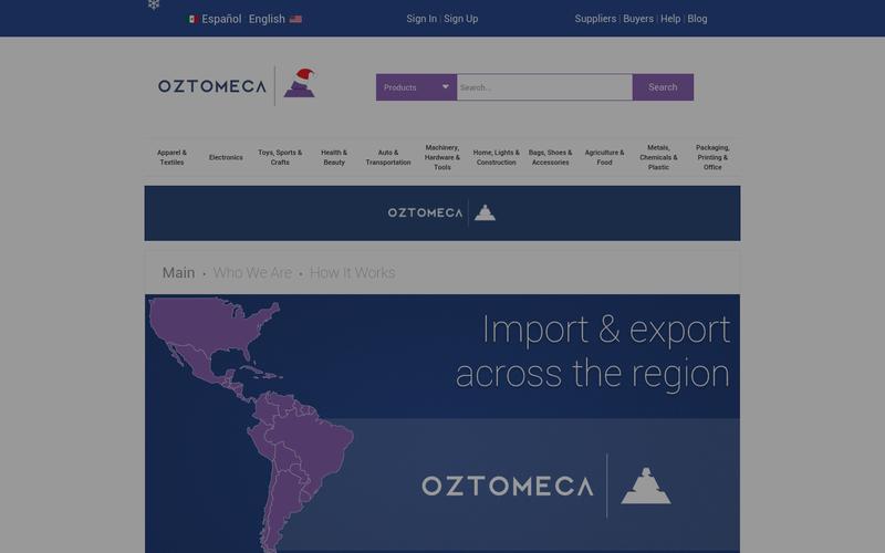 Oztomeca com - B2B Wholesale Platform for the Americas