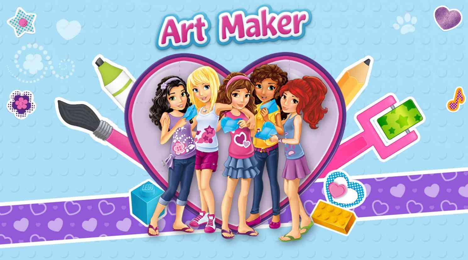Lego Friends Art Maker Angellist