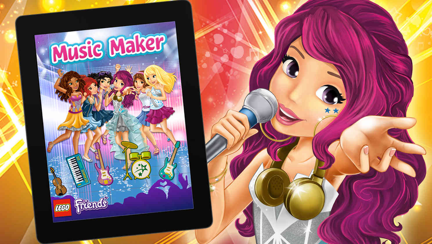 Lego Friends Music Maker Angellist