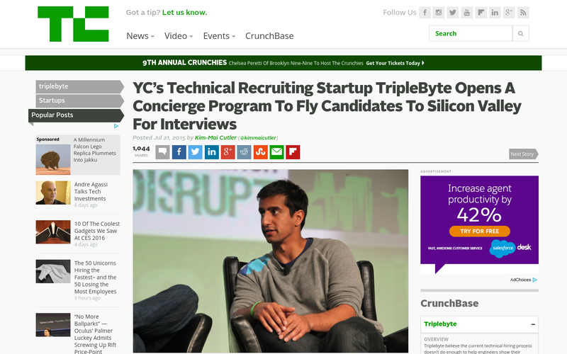 YC's Technical Recruiting Startup Triplebyte Opens A