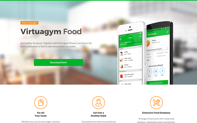 virtuagym food calorie carb fat counter by virtuagym angellist