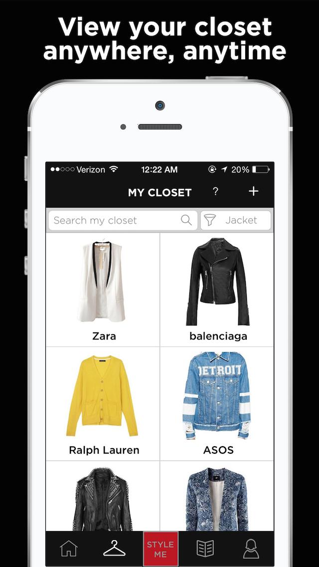 Stuff N Style   Closet Organizer, Outfit Planner, Virtual Closet, Digital  Wardrobe,