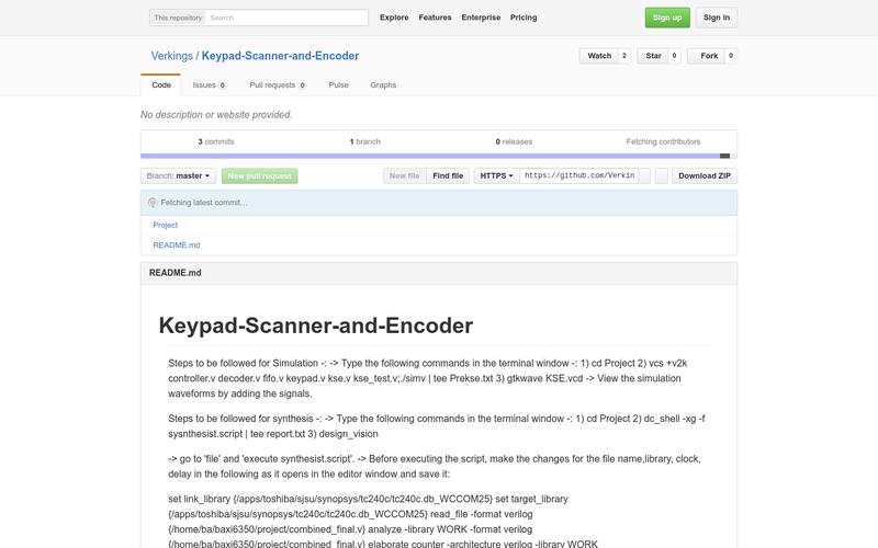 4x4 Keypad Scanner and Encoder   AngelList