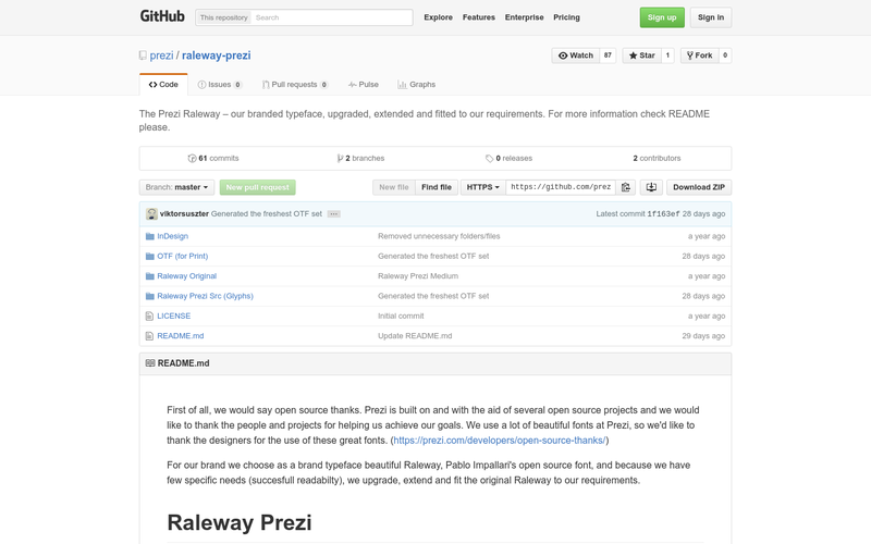 raleway prezi - angellist, Powerpoint templates