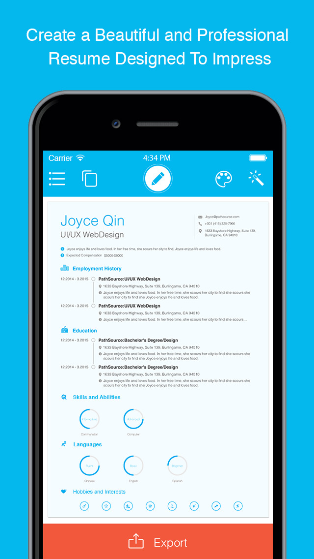 resume the free resume builder and job app by pathsource