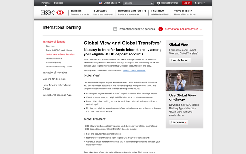 HSBC Mobile Global View and Global Transfers US Launch | AngelList