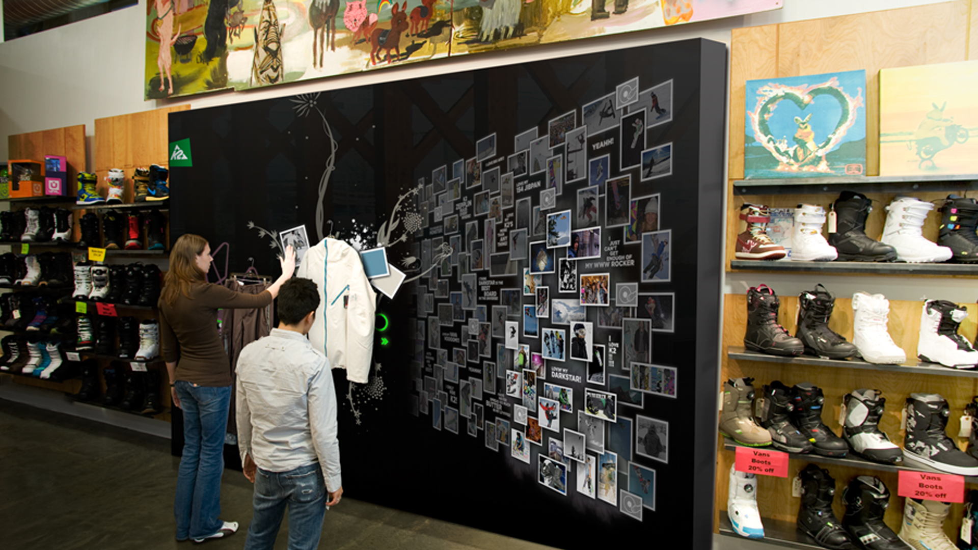 The Wall: A Next Generation Retail Experience