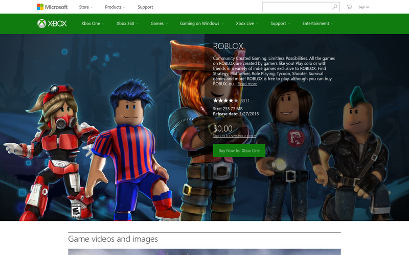 Roblox Xbox Exclusive Packages | Free Robux 300