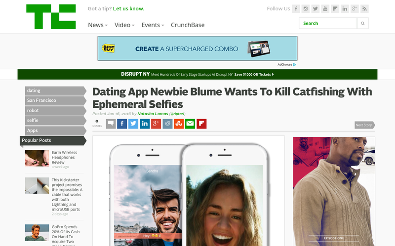 Catfish dating app