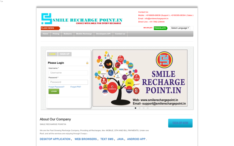 SMILERECHARGEPOINT IN , Single Sim Multi Recharge | All In One