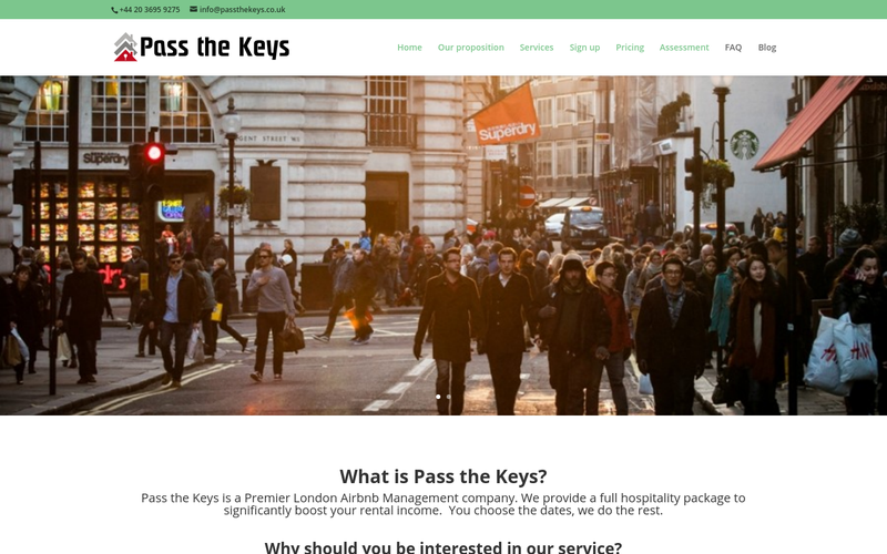 Pass the Keys - Airbnb Management London