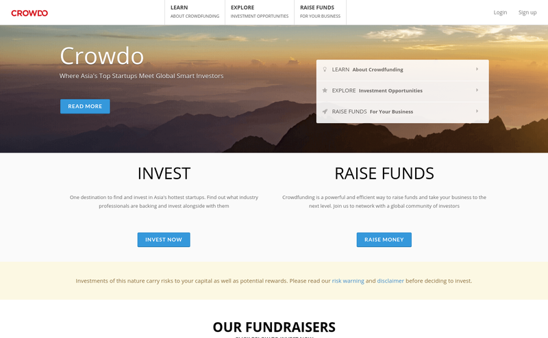 Crowdo : Equity Crowdfunding