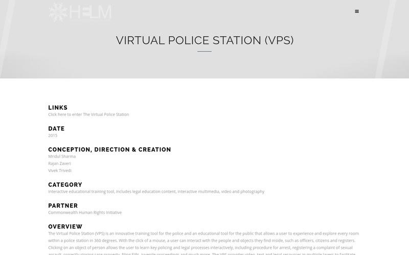 Virtual Police Station (VPS)