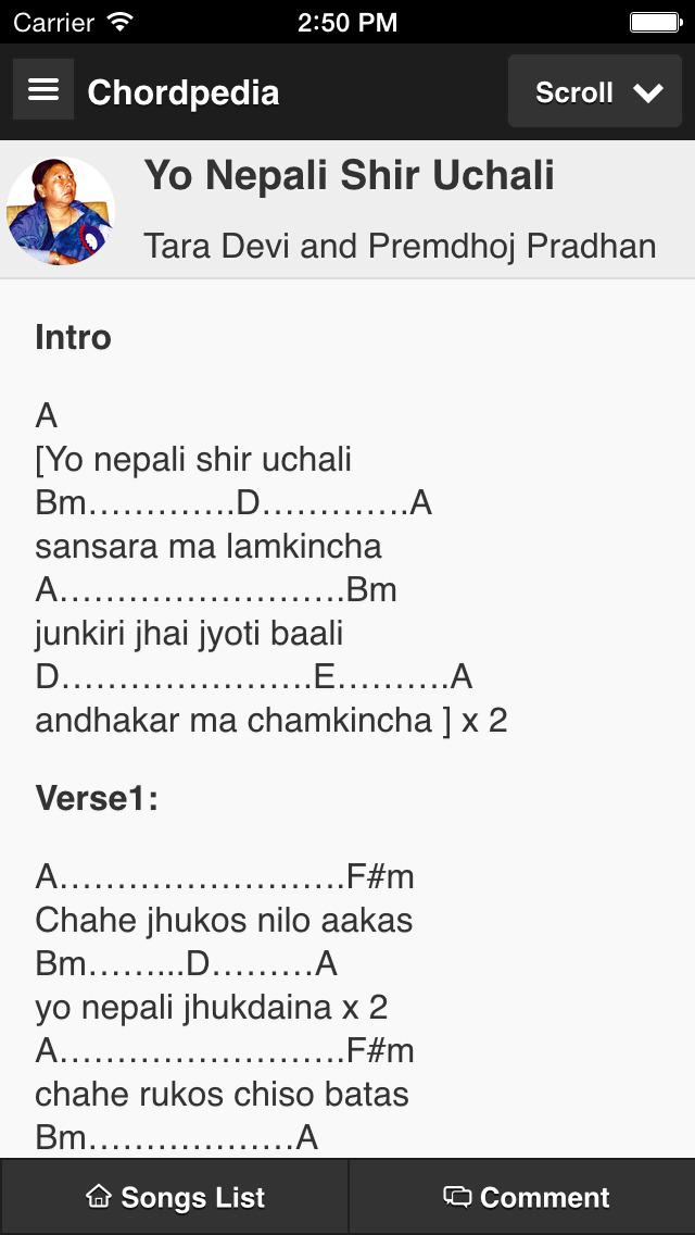 Chordpedia: Nepali Songs Chords - AngelList