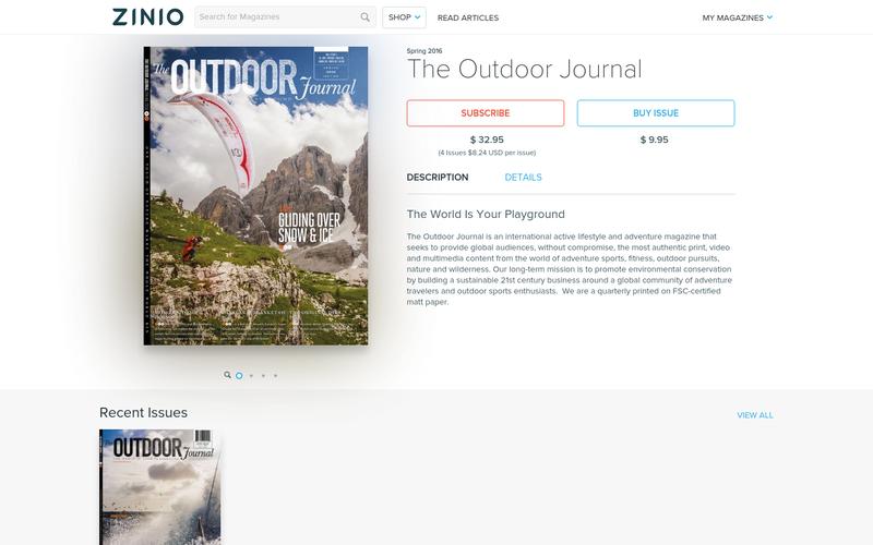 The Outdoor Journal
