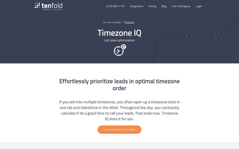Timezone IQ