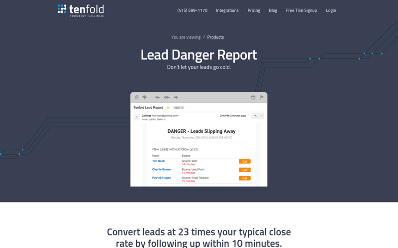 Lead Danger Report
