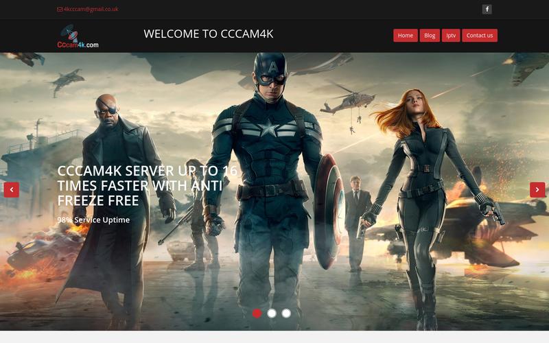 CCcam4k - New Camd CCcam Server and IPTV Server in UK | AngelList