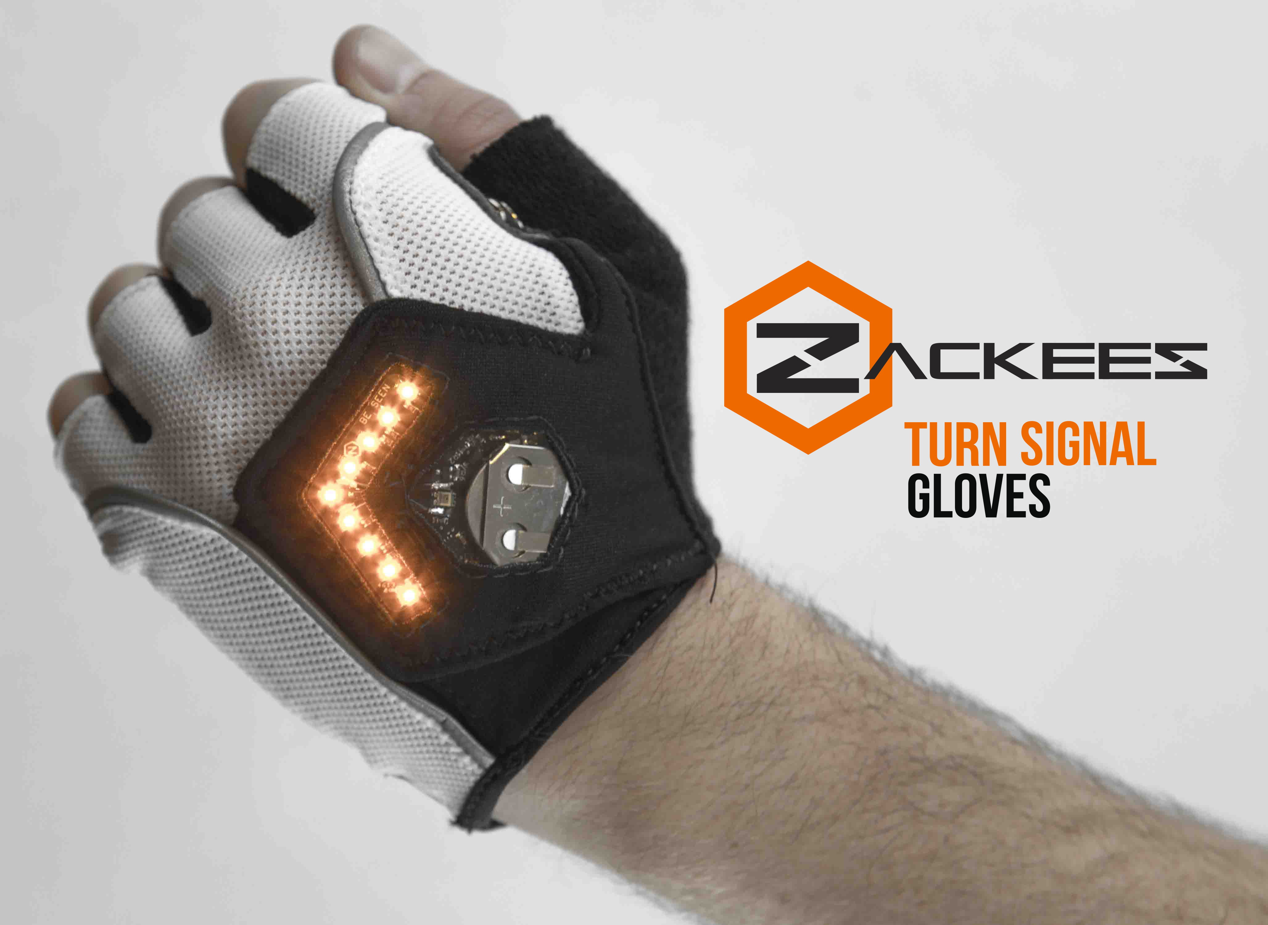 Zackees Turn Signal Gloves For Cycling Angellist