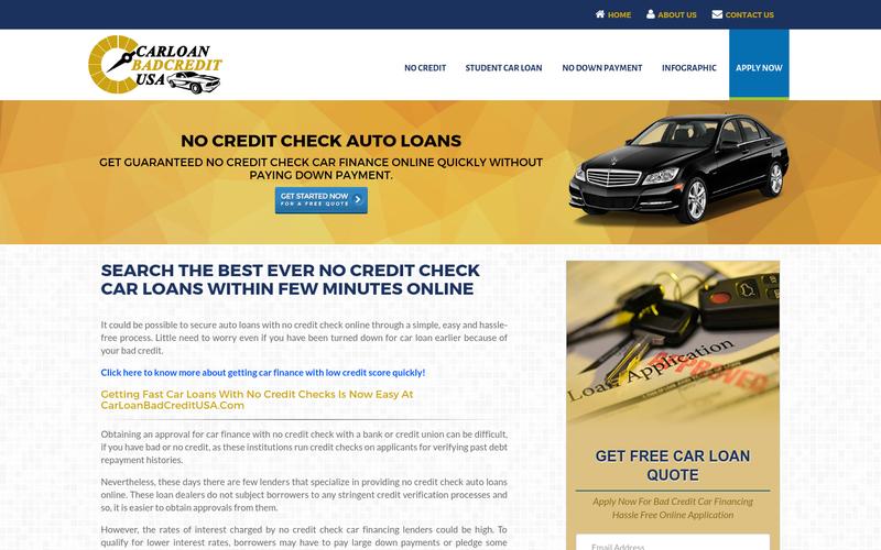 No Credit Check Car Loans >> No Credit Check Car Loans Car Finance With No Credit Check