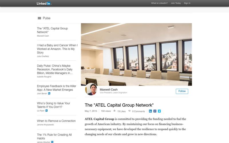 The Atel Capital Group Network Angellist