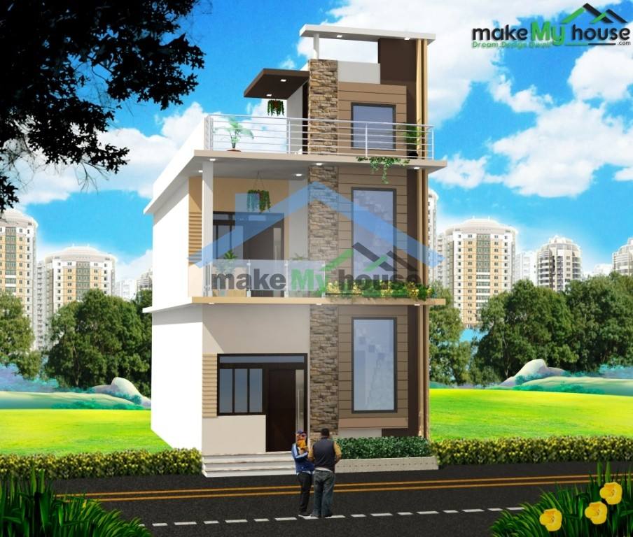 Home Design 15 X 50 Part - 39: House ...