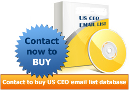 CEO e-mail address database | Buy CEO email ids list in USA