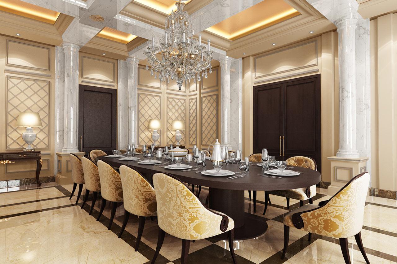 The classics by best interior design dubai fit out company for Top interior design companies in dubai