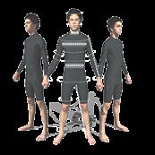 Antropo Body Model Capture and Analysis