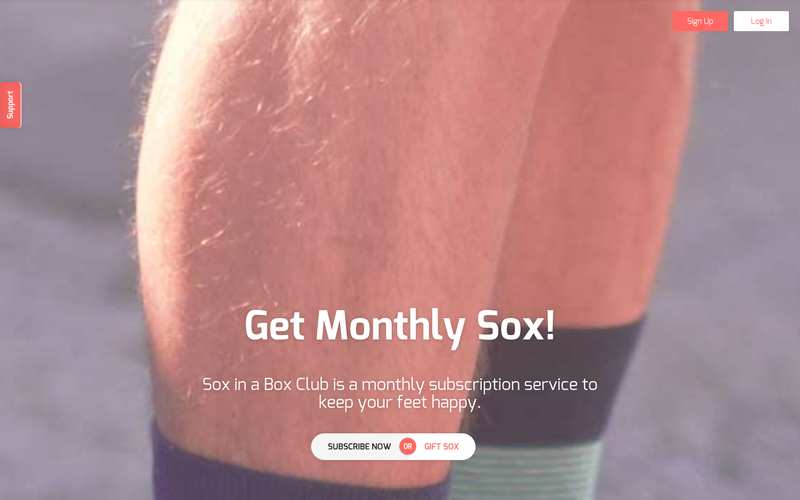 sox in a box club monthly sox subscription angellist